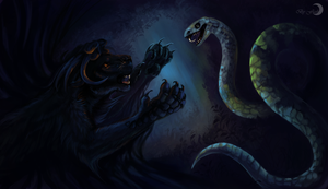 The Snake grove by FlashW