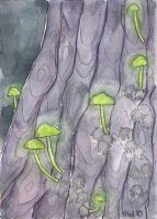luminous shrooms by silverlode