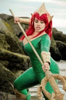 Mera Cosplay by Cin'Von Quinzel by CinVonQuinzel