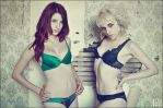 Red and Blonde by SusanCoffey