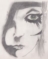 Andrew Sixx bigger drawing by PhantomTwilightWind