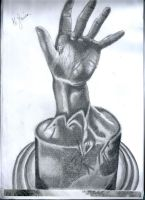 Hand drawing sketch n.2 by flaviudraghis