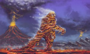 Lava Monster by scuttered