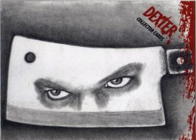 Dexter Morgan Eyes Reflected by Dr-Horrible