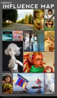 LH's Influence Map by LadyHazy