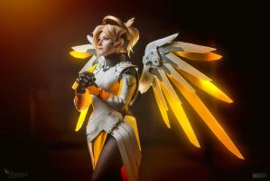 Mercy - Overwatch by Shappi