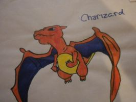 Charizard by pikachupokemon123