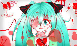 Hatsune Miku-Crime and Punnishment by ShooterXchan
