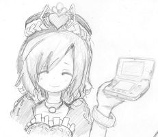 Madolche queen tiaramisu and her n3DS by LanHededhehod