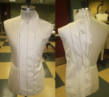 Pattern + Draping for Austria by RedeadDie
