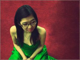 Green Dress by winso