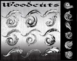 WOODCUTS: AI flourish pack by r2010