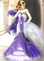 2p!NyoFrance in wedding dress by ImperialFrance