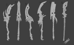 The Devourer Weapon Ideas by Jatep
