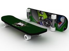 Tech Deck Fingerboard by so-close