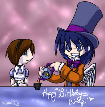 Happy birthday, you tea fiend by tagness