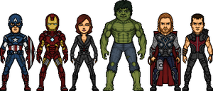The Avengers Earths Mightiest Heroes by Alexander514