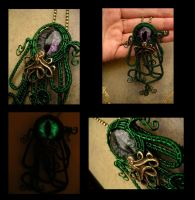 Cthulhu Inspired - Custom Details by LadyPirotessa