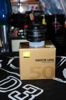 My new Nikkor 50mm 1:1.8 lens by Seth890603