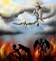 Heaven or Hell by girlngreen7