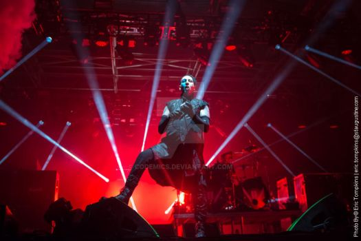 Marilyn Manson at Rockville 2015 by codemics