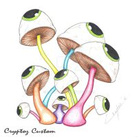 """Eye See PsYcHeDeLiC Mushrooms"" by CrYpToZ"