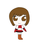 Meiko Chibi by TheSweetieCece