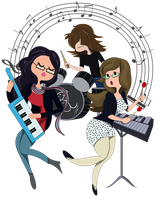 Sister band by jEROMEaNIMATIONS