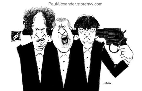 The Three Stooges by PaulAlexander1