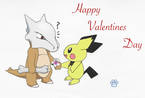 Valentine surprise by TOM-CATS