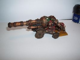 Skaven Warp Fire Cannon by Brother-Maynard