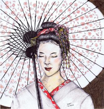 Geisha by Andreth