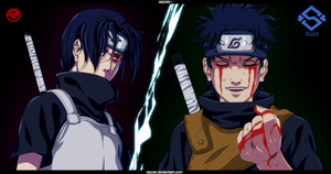 Itachi and Shisui - True best friends! by SOULEXODIA