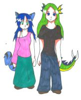 Blue and Yorin Simple by Ferret-X