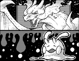 Miiverse Pokemon Drawings by Deltheor