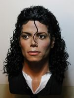 Michael Jackson lifesize Bad era/Moonwalker bust 2 by godaiking