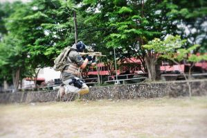 Ghost - Modern Warfare 2 - Omake Jump Shot by akagii2004