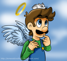 Luigi and George by MariobrosYaoiFan12