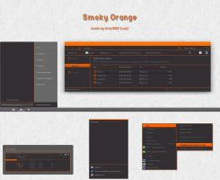 Smoky Orange by Uriy1966