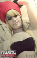 Winry Rockbell Cosplay by LauraNikoPhantomhive