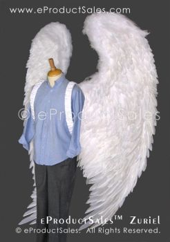 eProductSales Zuriel feather costume Angel Wings by eProductSales