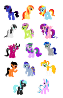 MLP Mystery Adopts - 5 points - CLOSED by theWeaverofTales