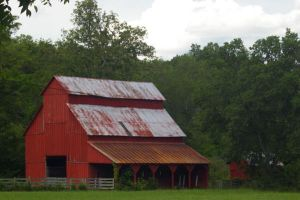 Old Red Barn by PatGoltz