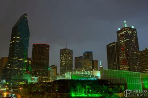 Natural Fill Dallas Skyline by AarontheMagician