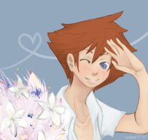Sora: Flowers for you. by Sandaro