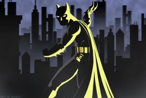 Batman Silhouette by RightHandOfDoom