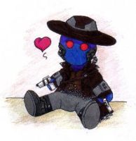 Cad Bane Plushie by Fang11803