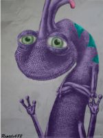 Randall-Says-Hi-In-Color by Reptile682