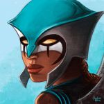 Daily Sketches HawkGirl by fedde