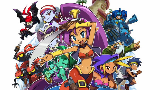Shantae and the Pirate's Curse Wallpaper - Normal by MasterRafalPL